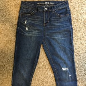 Vanilla Star High Rise Skinny Jeans size 7